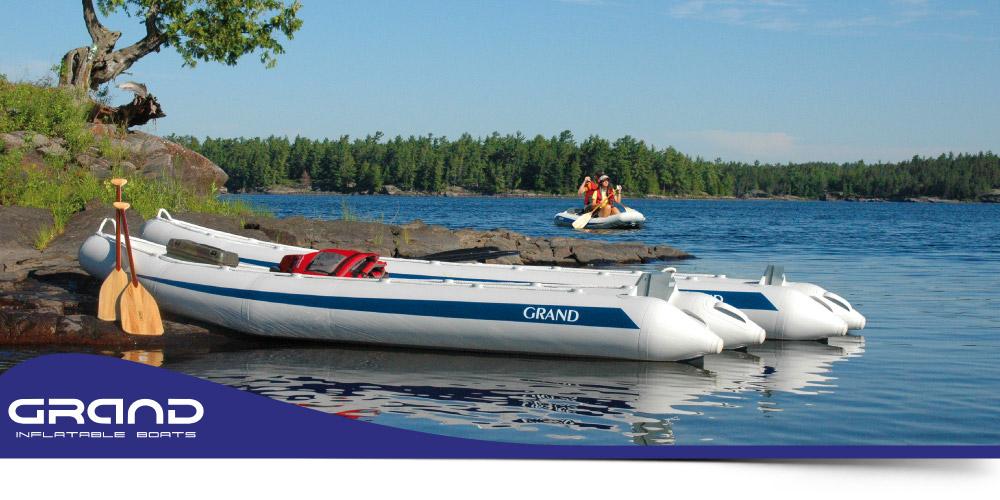 Inflatable Canoes & Kayaks - Argus Grand Canoe - Grand Canoes UK